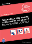Blackwell's Five-Minute Veterinary Practice Management Consult Pdf/ePub eBook