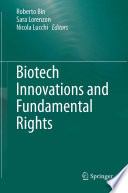 Biotech Innovations and Fundamental Rights Book