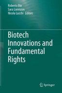Biotech Innovations and Fundamental Rights Pdf/ePub eBook