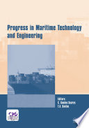Progress in Maritime Technology and Engineering