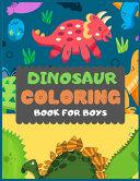 Dinosaur Colouring Book For Boys