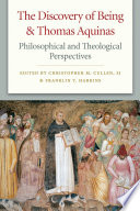 The Discovery of Being and Thomas Aquinas