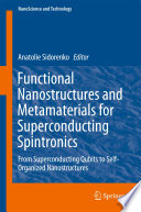 Functional Nanostructures And Metamaterials For Superconducting Spintronics Book PDF