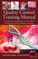Quality Control Training Manual
