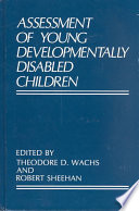 Assessment Of Young Developmentally Disabled Children Book PDF