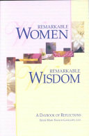 Remarkable Women  Remarkable Wisdom