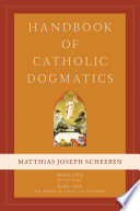 Handbook of Catholic Dogmatics 5 1 Book