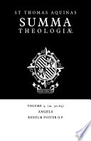 Read Online Summa Theologiae: Volume 9, Angels For Free