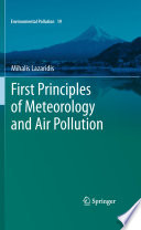 First Principles Of Meteorology And Air Pollution Book PDF