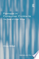 Fairness in Consumer Contracts