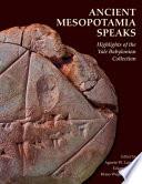 Ancient Mesopotamia Speaks