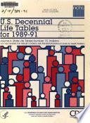 U S Decennial Life Tables For