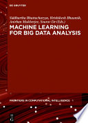Machine Learning for Big Data Analysis Book