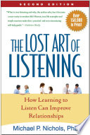 The Lost Art Of Listening Book PDF
