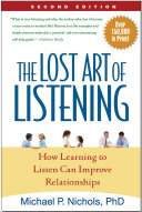 Pdf The Lost Art of Listening