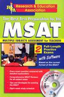 The Best Test Preparation for the MSAT, Multiple Subjects Assessment for Teachers