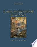 Lake Ecosystem Ecology Book PDF
