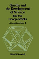 Goethe and the Development of Science 1750-1900