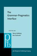 The Grammar pragmatics Interface