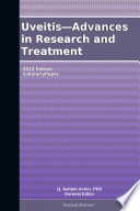 Uveitis Advances In Research And Treatment 2012 Edition Book PDF