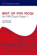 Best of Five MCQs for MRCPsych Paper 1