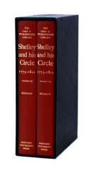 Shelley and His Circle  1773 1822 Book