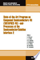 State Of The Art Program On Compound Semiconductors 46  SOTAPOCS 46   And  Processes At The Semiconductor Solution Interface 2