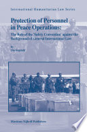 Protection of Personnel in Peace Operations Book