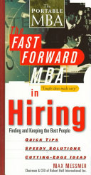 The Fast Forward MBA in Hiring Book