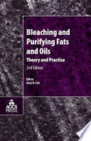 Bleaching and Purifying Fats and Oils Book