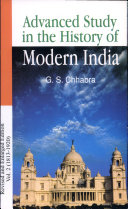 Advance Study in the History of Modern India (Volume-2: 1803-1920)