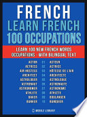 French   Learn French   100 Words   Occupations