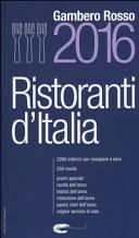 Ristoranti d'Italia del Gambero Rosso 2016