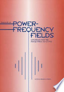 Research On Power Frequency Fields Completed Under The Energy Policy Act Of 1992