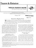 Taxes and Estates