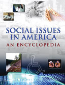 Social Issues in America  An Encyclopedia