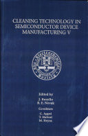 Proceedings of the Fifth International Symposium on Cleaning Technology in Semiconductor Device Manufacturing