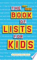 The All New Book Of Lists For Kids