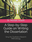 A Step by Step Guide on Writing the Dissertation
