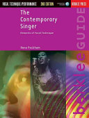 The Contemporary Singer Book