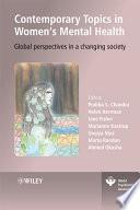 Contemporary Topics in Women's Mental Health
