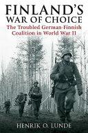 Finland s War of Choice