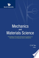 Mechanics and Materials Science
