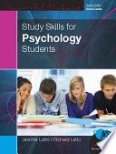 EBOOK: Study Skills for Psychology Students