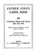 Father Finn s Carol Book