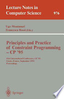 Principles and Practice of Constraint Programming   CP  95