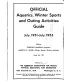 Official Aquatics  Winter Sports  and Outing Activities Guide