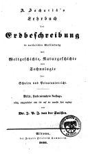 A. Zachariä's Lehrbuch der Erdbeschreibung