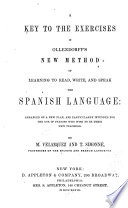 A Key to the Exercises in Ollendorff s New Method of Learning to Read  Write  and Speak the Spanish Language