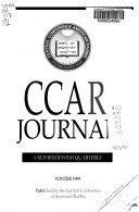 CCAR Journal